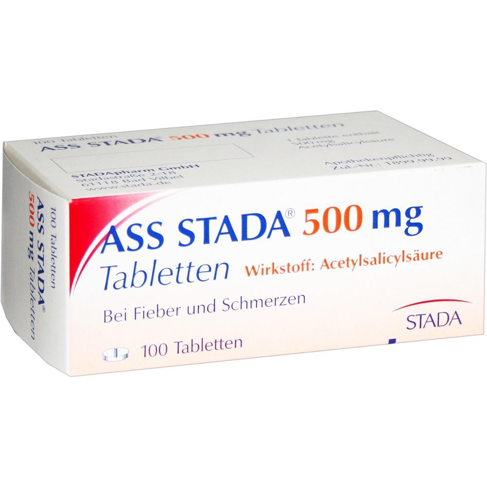 ASS STADA 500 mg Tabletten