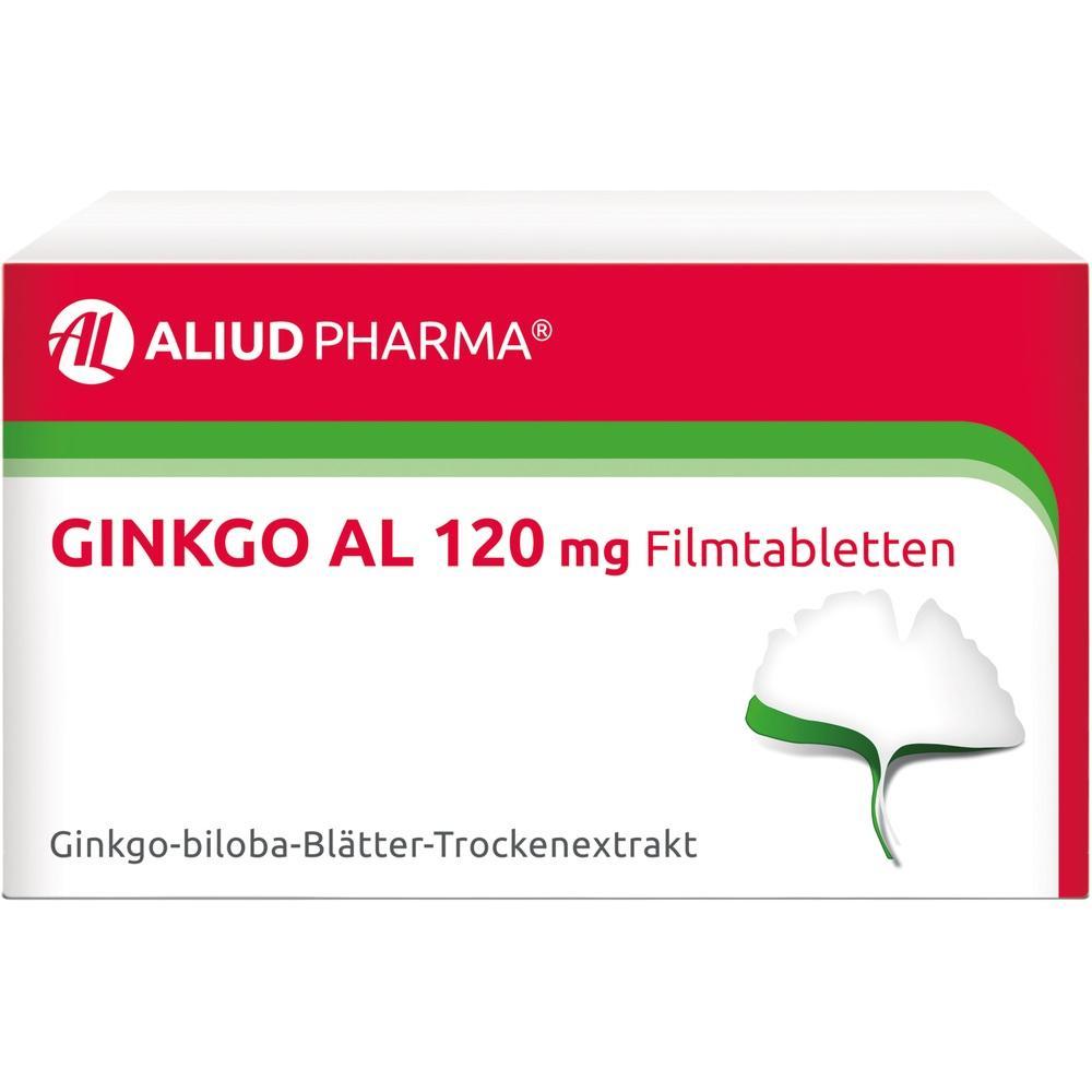 GINKGO AL 120 mg Filmtabletten