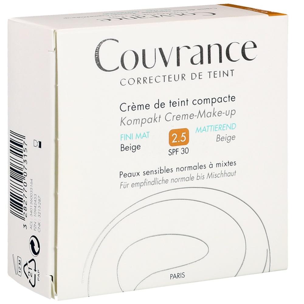 AVENE Couvrance Kompakt Cr.-Make-up matt.beige 2,5
