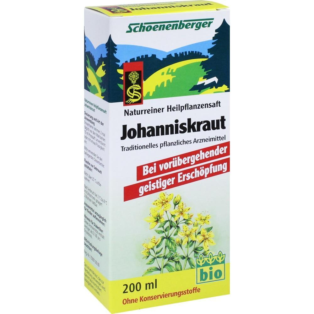 JOHANNISKRAUT SAFT Schoenenberger