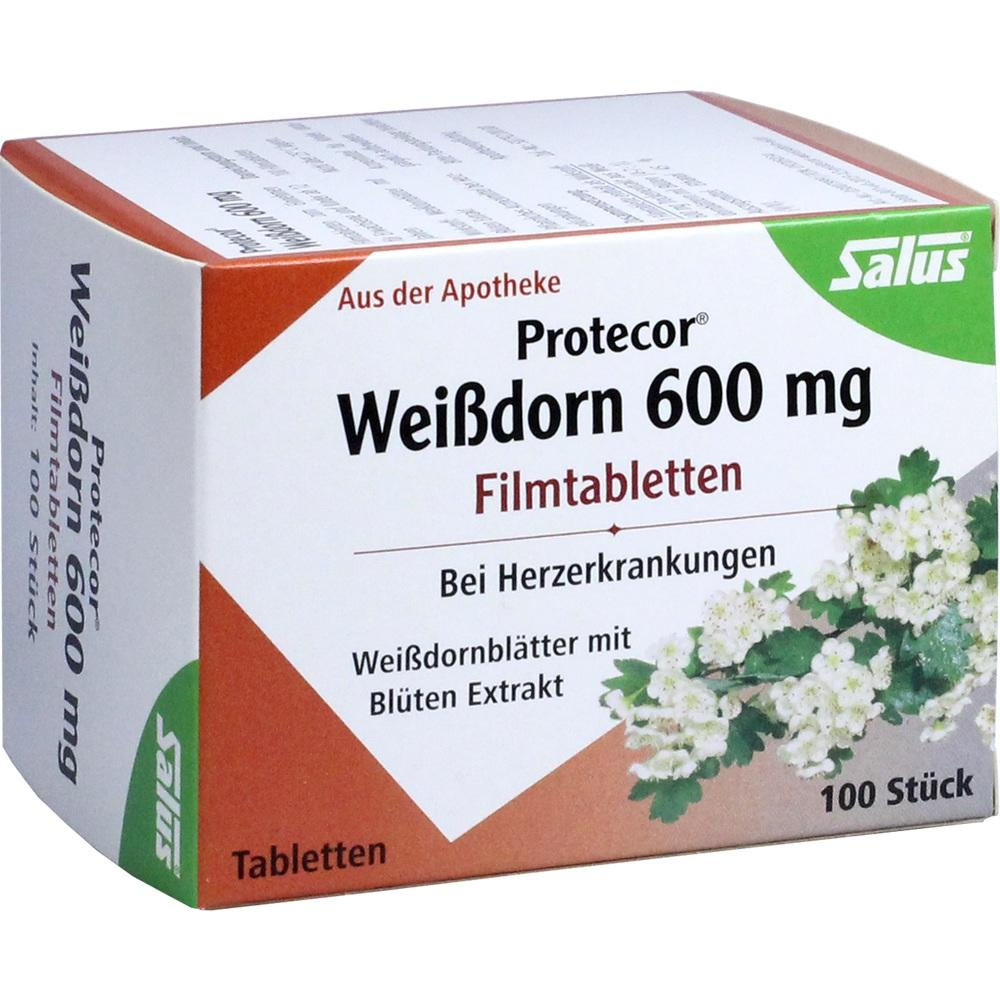 PROTECOR Weißdorn 600 mg Filmtabletten