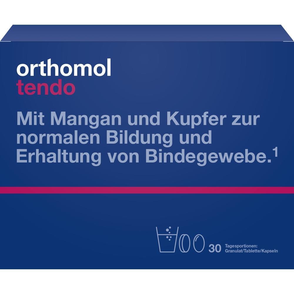 ORTHOMOL Tendo Granulat/Kaps./Tabl.Kombipack.