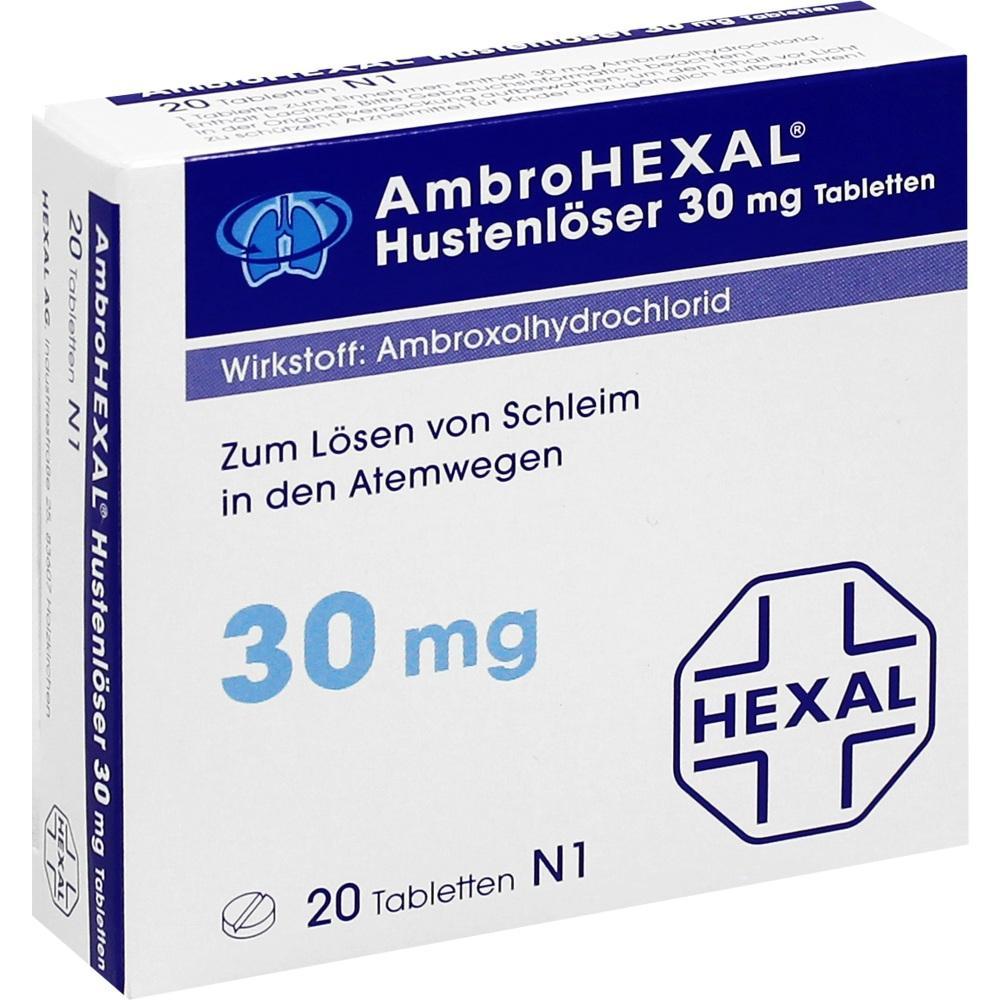 AMBROHEXAL Hustenlöser 30 mg Tabletten