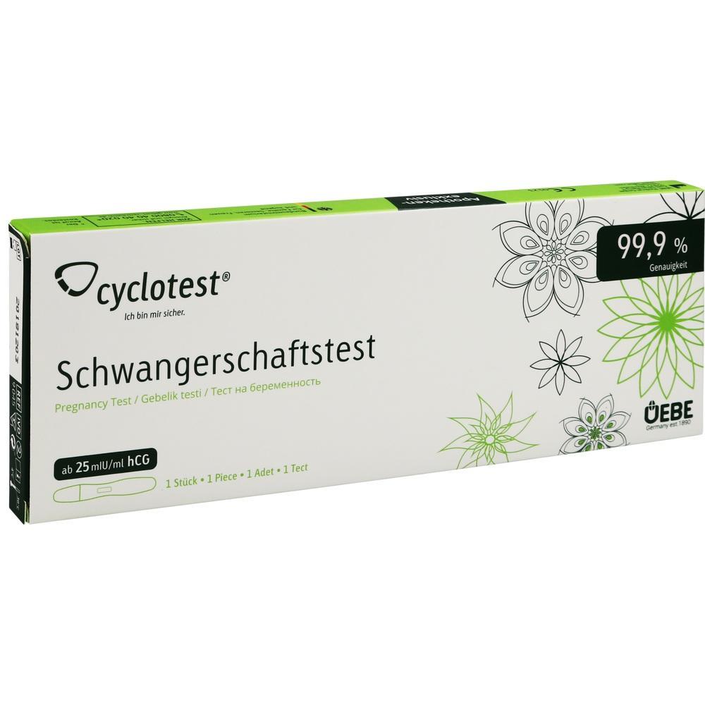 CYCLOTEST Schwangerschaftstest 25 mlU/ml Urin