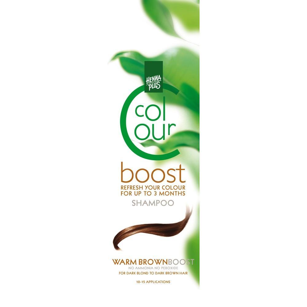 HENNAPLUS Colour Shampoo Boost warm brown