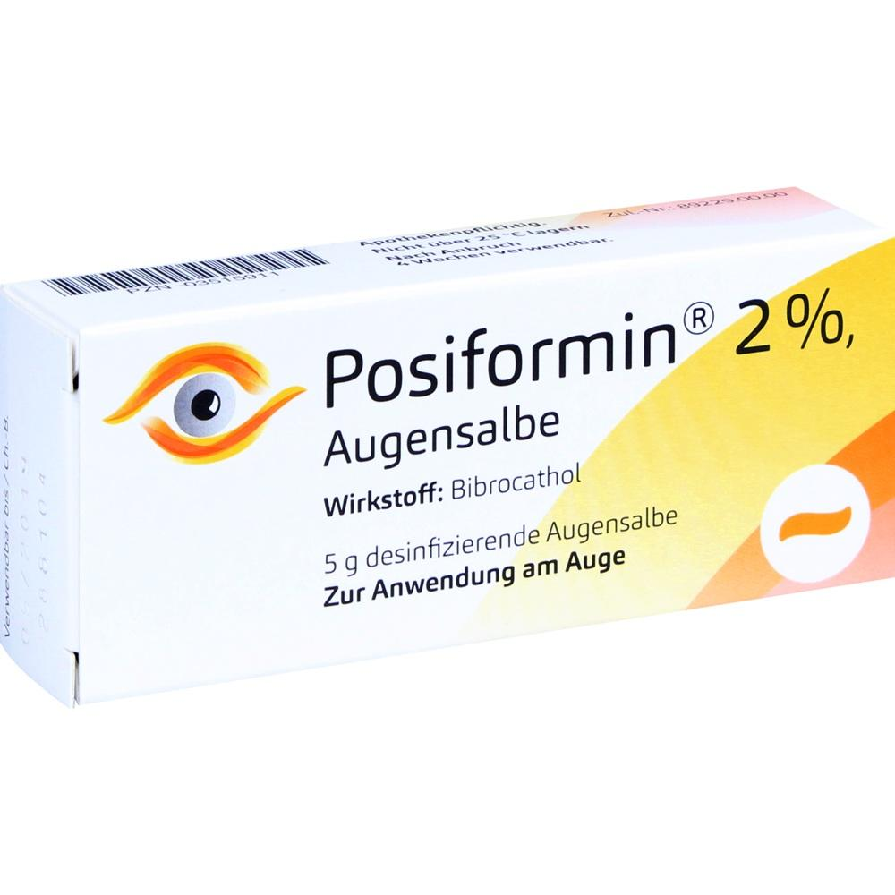 POSIFORMIN 2% Augensalbe