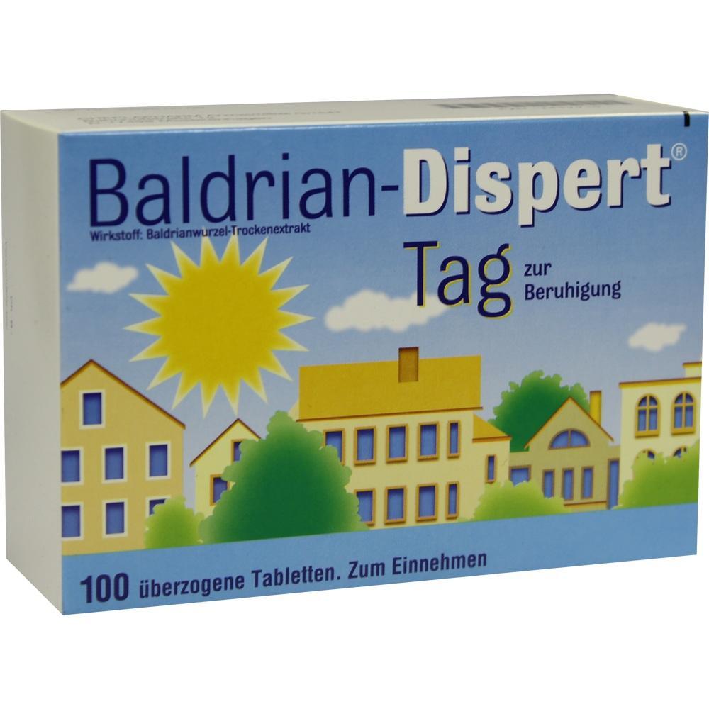 BALDRIAN DISPERT Tag überzogene Tabletten