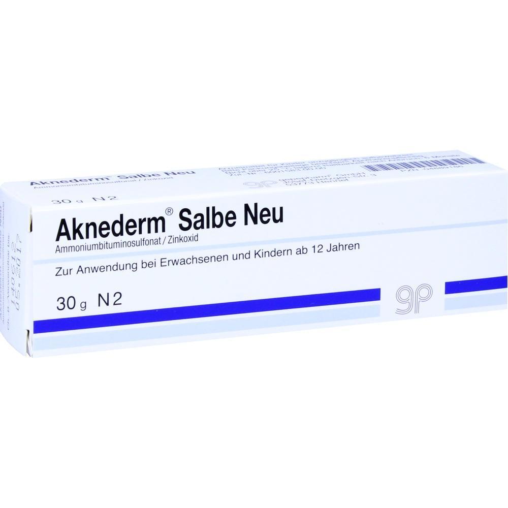 AKNEDERM Salbe Neu