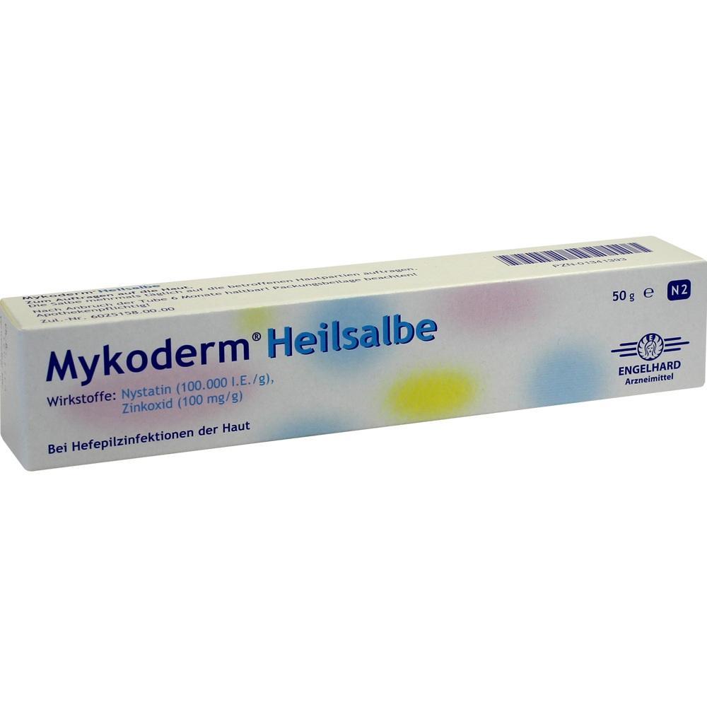 MYKODERM Heilsalbe Nystatin u.Zinkoxid