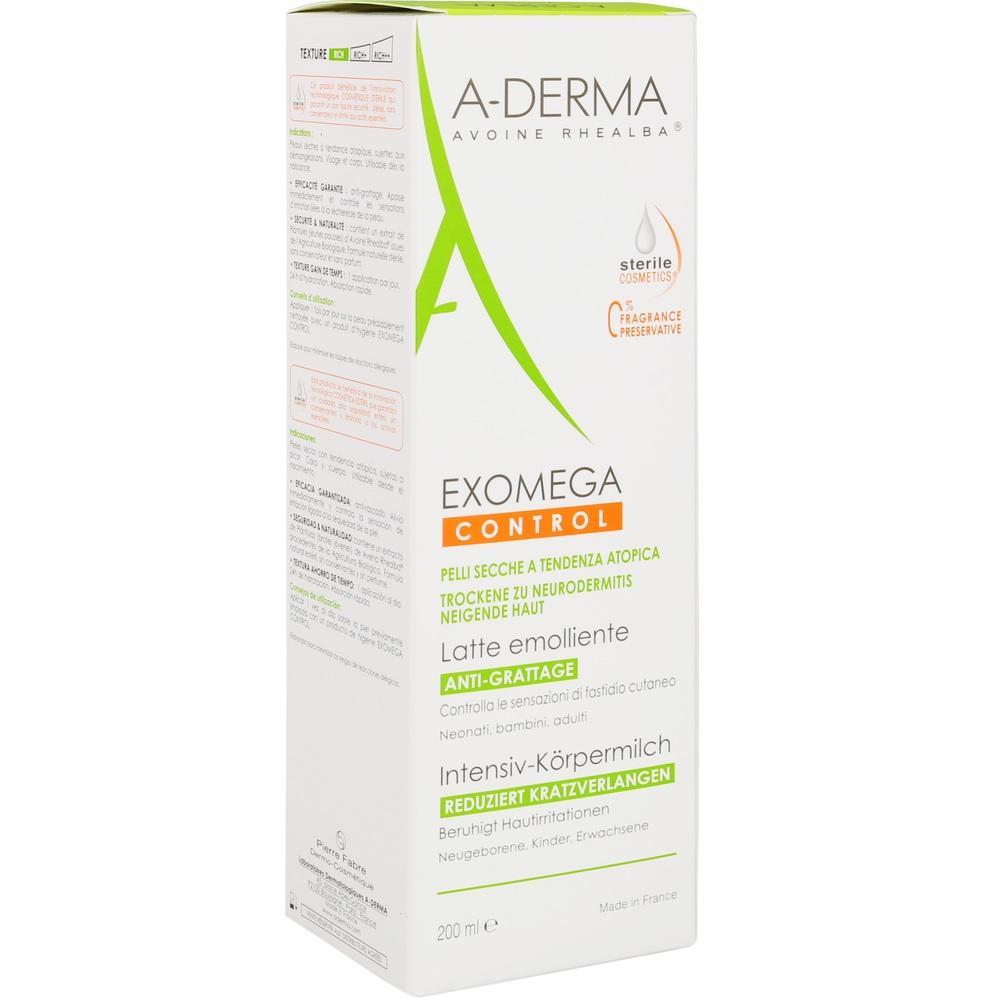 A-DERMA EXOMEGA CONTROL INTENSIV Körpermilch ster.
