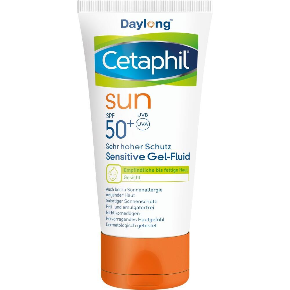 CETAPHIL Sun Daylong SPF 50+ sens.Gel-Fluid Gesich