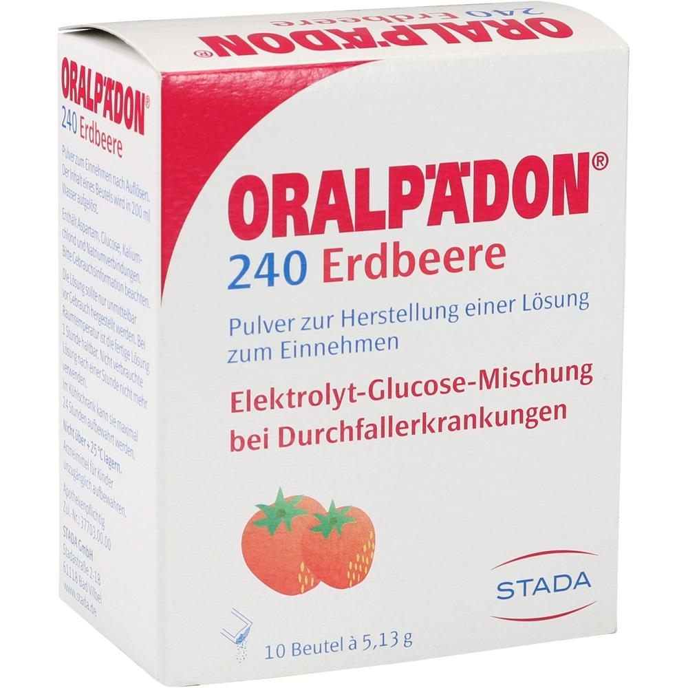 ORALPÄDON 240 Erdbeere Btl. Pulver