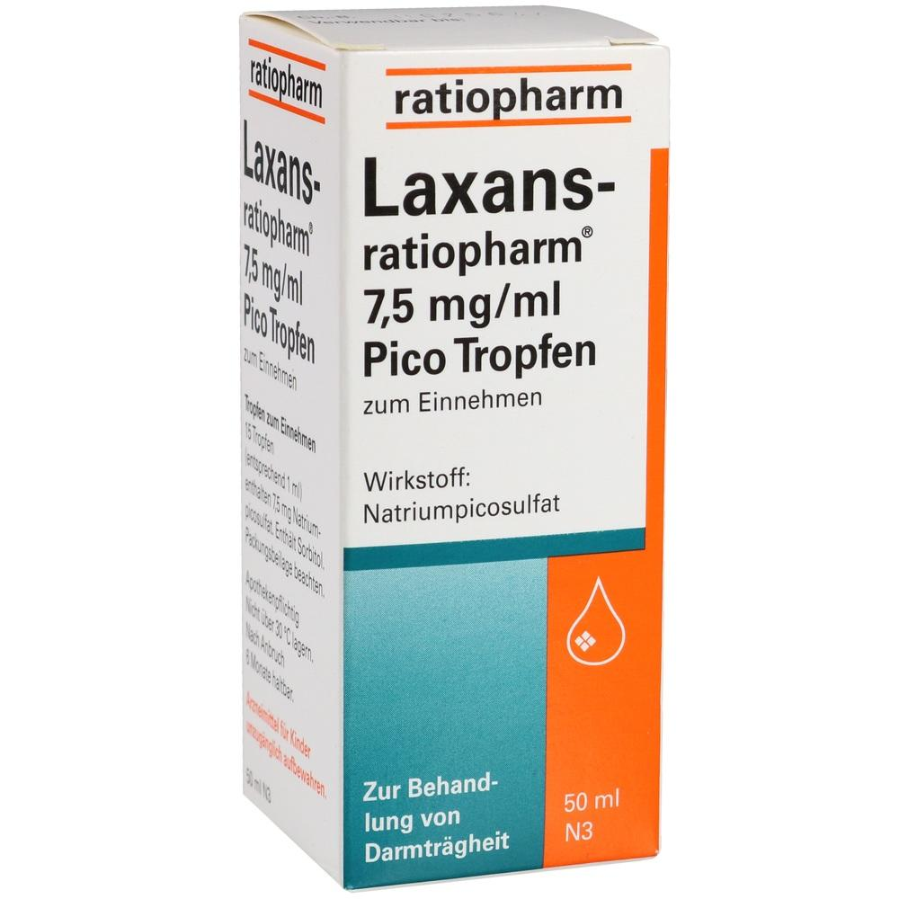 LAXANS-ratiopharm 7,5 mg/ml Pico Tropfen