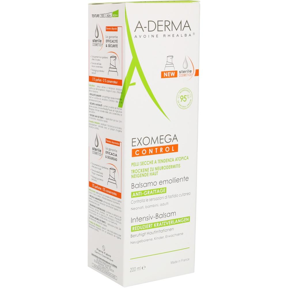 A-DERMA EXOMEGA CONTROL INTENSIV Balsam steril