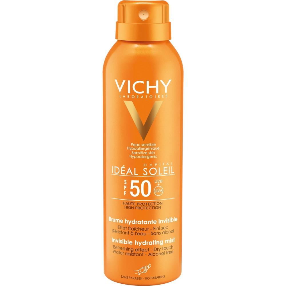 VICHY CAPITAL Soleil Transp.Sonnenspray LSF 50