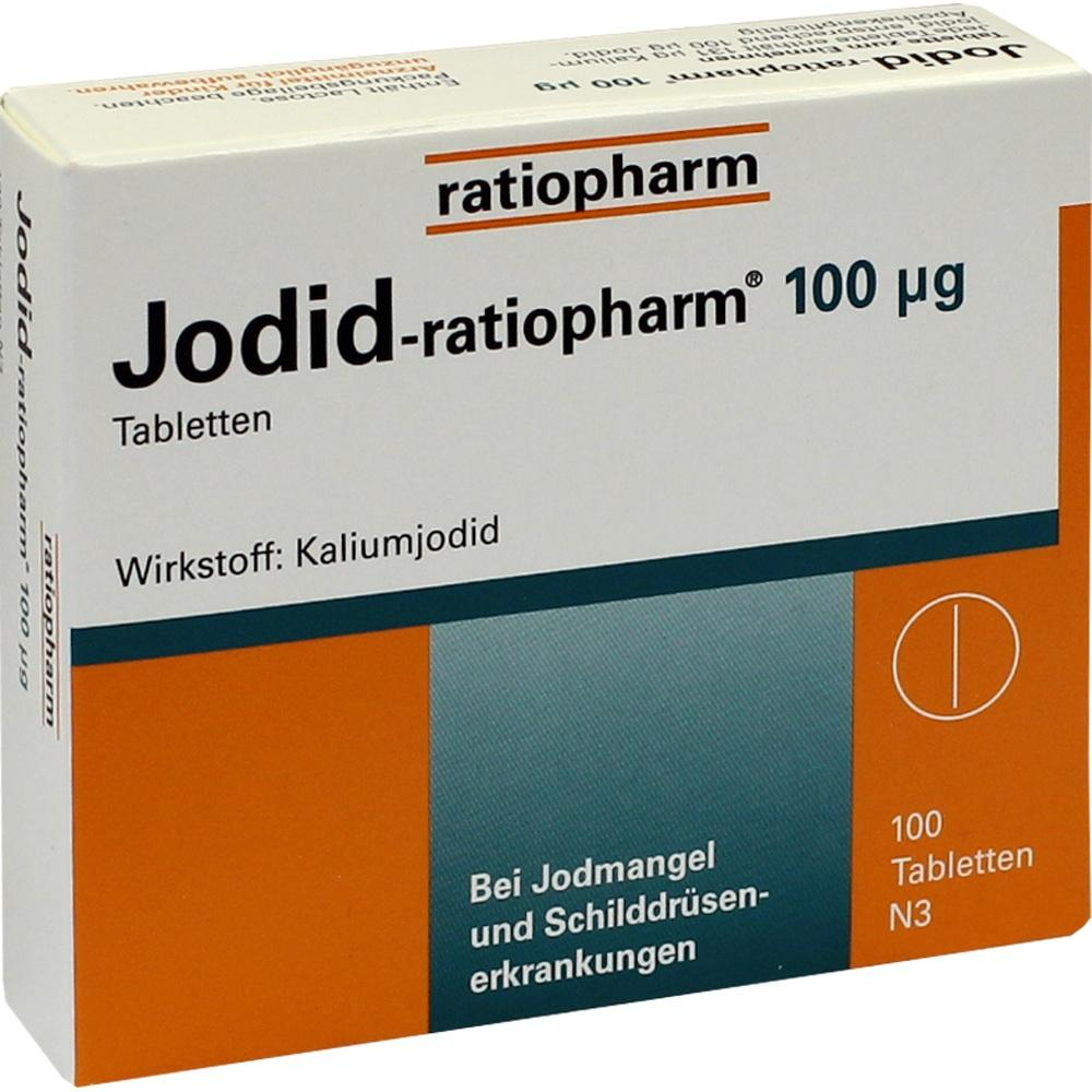 JODID-ratiopharm 100 µg Tabletten