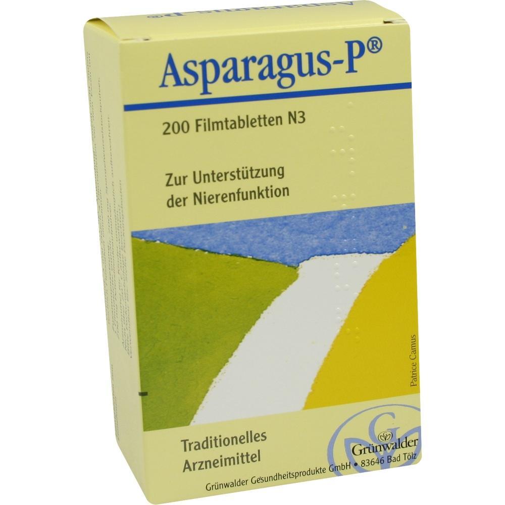 ASPARAGUS P Filmtabletten