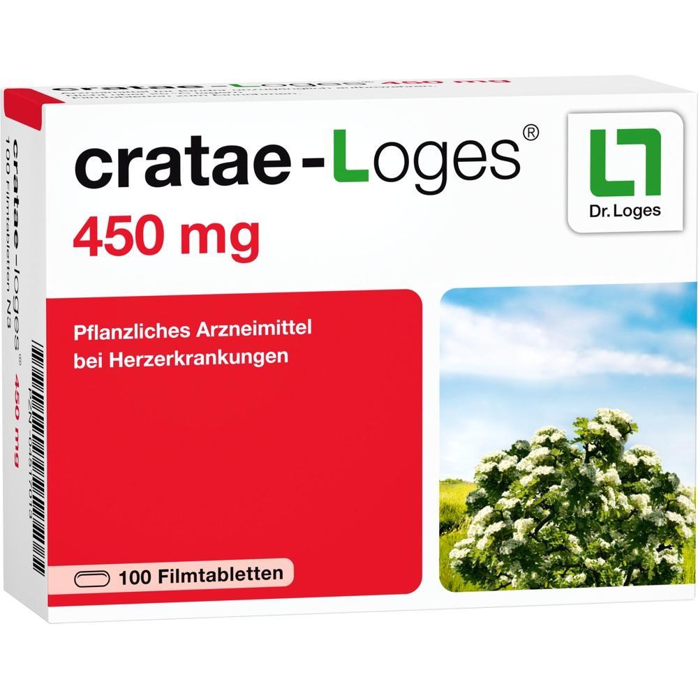 CRATAE-LOGES 450 mg Filmtabletten
