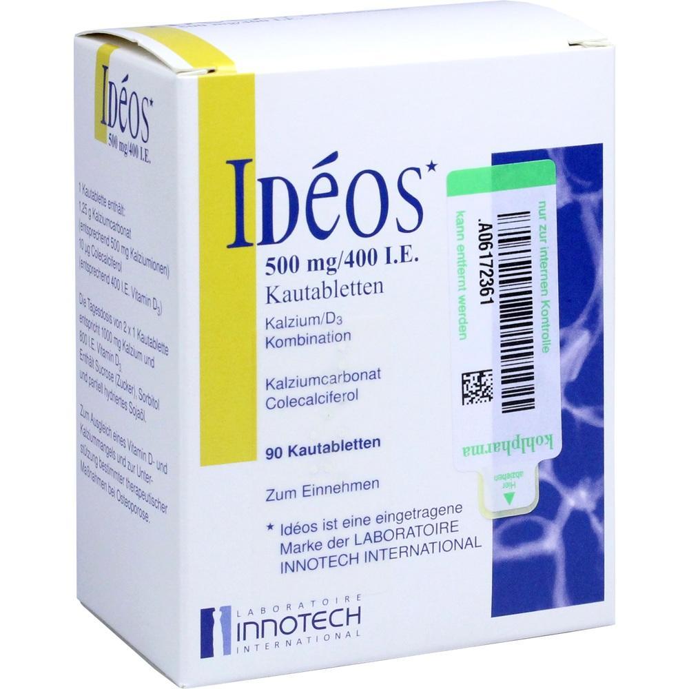 IDEOS 500 mg/400 I.E. Kautabletten