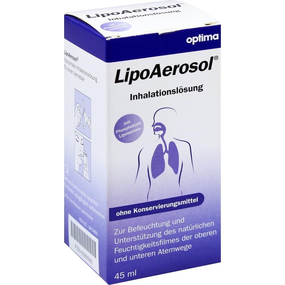 LIPOAEROSOL liposomale Inhalationslösung