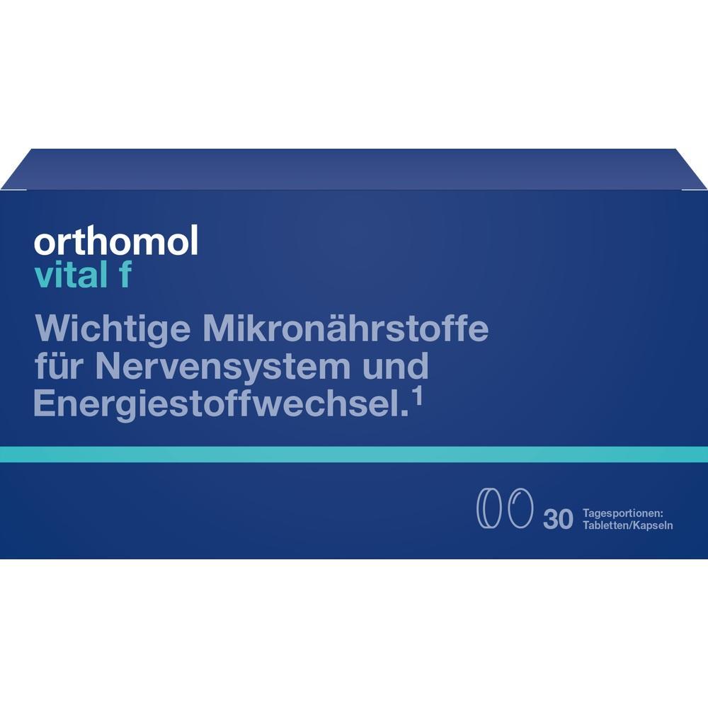 ORTHOMOL Vital F Tabletten/Kaps.Kombipack.30 Tage