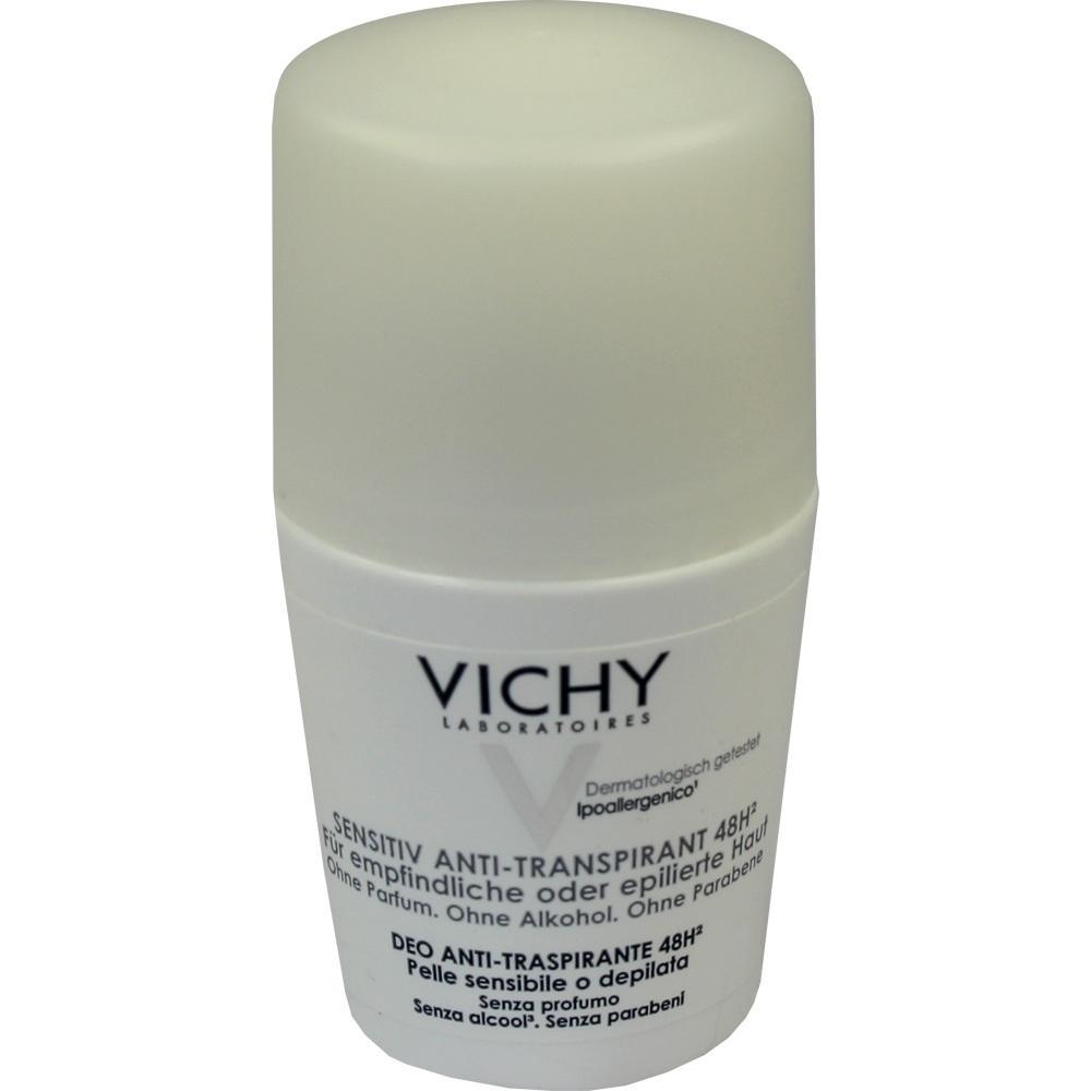 VICHY DEO Roll-on Sensitiv Anti Transpirant 48h